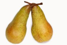 Free Two Pears Stock Image - 18028181