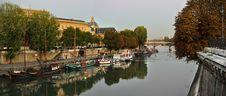 Free Seine Riverside Royalty Free Stock Photo - 18028925