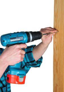 Free Screw-406 Stock Photography - 18029082
