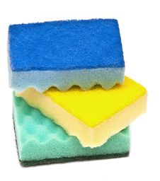 Free Sponge Dish Royalty Free Stock Photos - 18029788