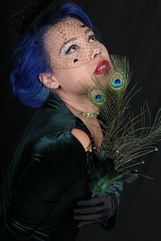 Free Vintage Woman Royalty Free Stock Photos - 18029958