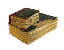 Free Two Ancient Books Stock Photos - 18029993