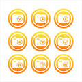 Free Orange Photography Signs Stock Photography - 18034292