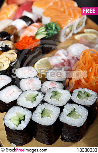 Free Japanese Cuisine Stock Photos - 18030333