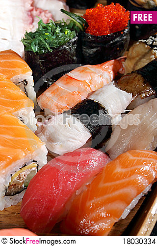 Free Japanese Cuisine Stock Images - 18030334