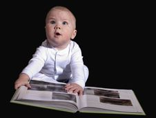 Free Funny Baby Stock Photography - 18030062