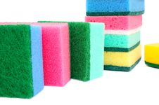 Free Sponges Royalty Free Stock Image - 18031676