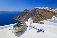 Free Santorini View - Greece Stock Photos - 18033973