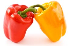 Bulgarian Peppers Stock Image