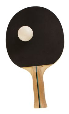 Free Table Tennis Racket Stock Photo - 18034630