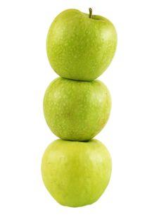Free Three Apples Stock Image - 18034681