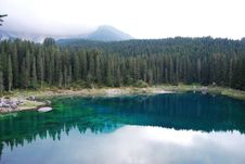 Free Carezza Lake Royalty Free Stock Photos - 18035138