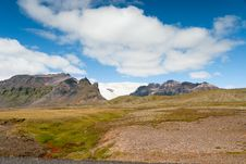 Landscape In Iceland Stock Photography