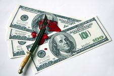Free «Bloody Money» Royalty Free Stock Image - 18035726