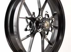Free Black Wheel Royalty Free Stock Photography - 18035767