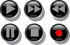 Free Buttons Stock Image - 18036021