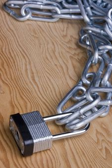 Free Lock And Chain Royalty Free Stock Photo - 18036655