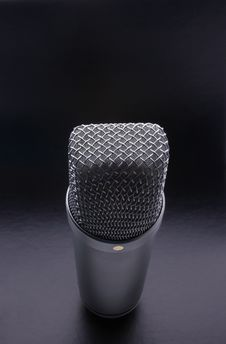 Free Studio Microphone Royalty Free Stock Image - 18037596