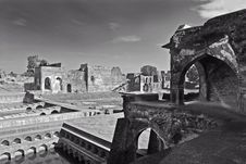 Ancient Forts Of India Royalty Free Stock Photos