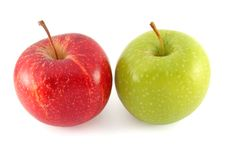 Free Red And Green Apples Stock Photo - 18038430