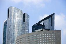 Free Office Buildings In La Defense Royalty Free Stock Photo - 18038725