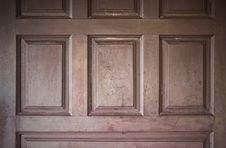 Texture Of Wooden Door Stock Photography
