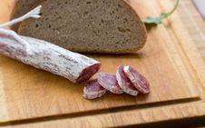 Free Salami Sausage. Stock Photos - 18039423