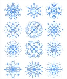 Free Snowflakes Stock Photos - 18039613