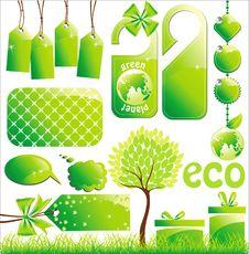 Free Ecology Set Stock Photo - 18039620