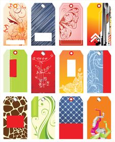 Free Colorful Tags Stock Photography - 18039722