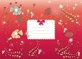 Free Bright Flower Card Stock Photo - 18042390