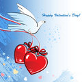 Free Dove-Heart02 Royalty Free Stock Photos - 18046798