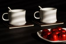 Free Tea With Sweets. Stock Photos - 18040093