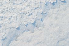 Free The Texture Of The Snow Stock Images - 18040544