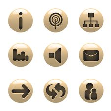 Free Media Icons Vector Stock Photography - 18040952