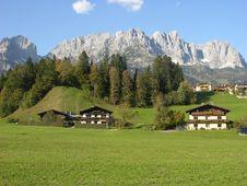 Free Typical Alpine Land Stock Image - 18041081