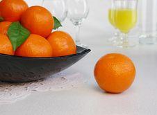 Free Mandarines Royalty Free Stock Image - 18041546