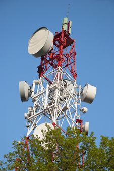 Free Communication Tower Stock Photo - 18041920
