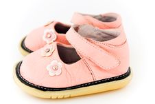 Free Baby Shoes Royalty Free Stock Photos - 18042158