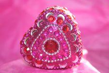 Free Jeweled Heart Stock Photos - 18043553