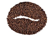 Free Big Coffee Bean Stock Images - 18043664