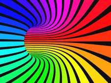 Free Rainbow Strips Stock Image - 18044291