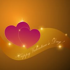 Free Valentines Greeting Stock Images - 18044404