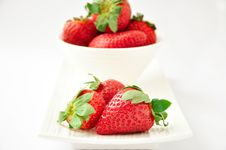 Free Strawberries Stock Photography - 18044422