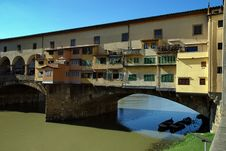 Free Old Bridge, Ponte Vecchio, Florence, Italy Stock Photo - 18044550