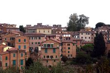 Free View On Sienna Houses, Toscany, Italy Stock Photography - 18044802