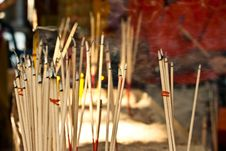 Free Joss Stick Stock Photography - 18044812