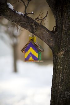 Free Bird House 2 Stock Images - 18045204