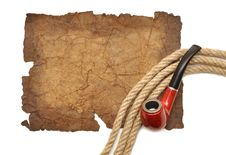 Free Pipe And Rope Stock Photo - 18045480