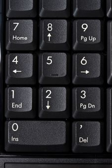 Free Computer Keyboard Closeup Stock Photo - 18047670